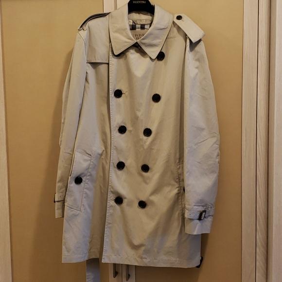 Burberry 3/4 Rain/Trench Coat